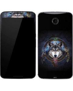 Celtic Wolf Guide Google Nexus 6 Skin