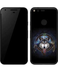 Celtic Wolf Guide Google Pixel Skin