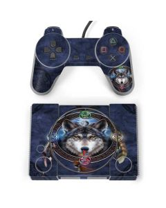 Celtic Wolf Guide PlayStation Classic Bundle Skin