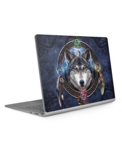 Celtic Wolf Guide Surface Book 2 13.5in Skin