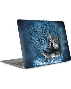 Celtic Wolf Apple MacBook Air Skin