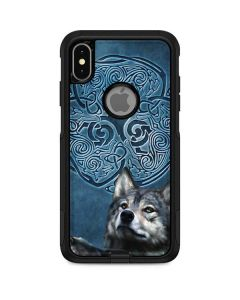 Celtic Wolf Otterbox Commuter iPhone Skin