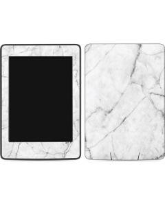 White Marble Amazon Kindle Skin