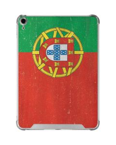 Portugal Flag Distressed iPad Air 10.9in (2020) Clear Case