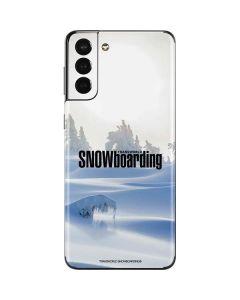 TransWorld SNOWboarding Trees Galaxy S21 Plus 5G Skin