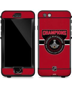 Champions Chicago Blackhawks 2015 Stanley Cup LifeProof Nuud iPhone Skin