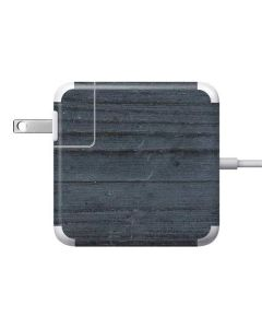 Charcoal Wood 85W Power Adapter (15 and 17 inch MacBook Pro Charger) Skin