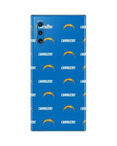 Los Angeles Chargers Blitz Series Galaxy Note 10 Skin
