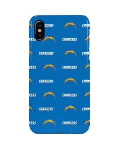 Los Angeles Chargers Blitz Series iPhone XS Max Lite Case