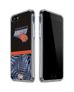 Charlotte Bobcats Retro Palms iPhone SE Clear Case