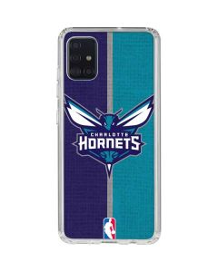 Charlotte Hornets Canvas Galaxy A51 Clear Case