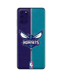Charlotte Hornets Canvas Galaxy S20 Plus Skin