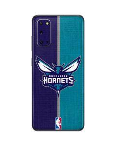 Charlotte Hornets Canvas Galaxy S20 Skin