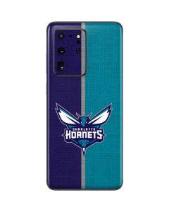 Charlotte Hornets Canvas Galaxy S20 Ultra 5G Skin