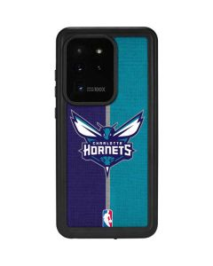 Charlotte Hornets Canvas Galaxy S20 Ultra 5G Waterproof Case