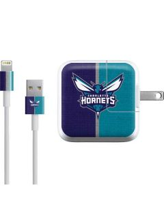Charlotte Hornets Canvas iPad Charger (10W USB) Skin