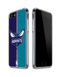 Charlotte Hornets Canvas iPhone SE Clear Case