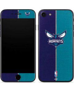 Charlotte Hornets Canvas iPhone SE Skin