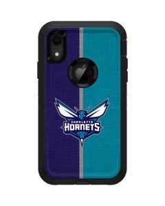 Charlotte Hornets Canvas Otterbox Defender iPhone Skin