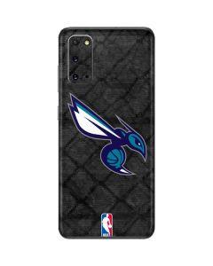 Charlotte Hornets Dark Rust Galaxy S20 Skin