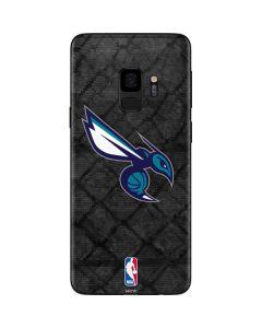 Charlotte Hornets Dark Rust Galaxy S9 Skin