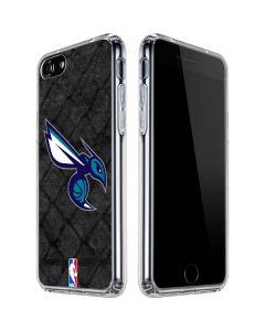 Charlotte Hornets Dark Rust iPhone SE Clear Case