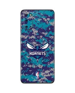 Charlotte Hornets Digi Camo Galaxy S20 Skin