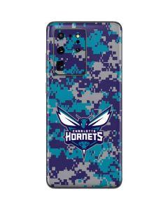 Charlotte Hornets Digi Camo Galaxy S20 Ultra 5G Skin