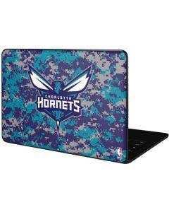 Charlotte Hornets Digi Camo Google Pixelbook Go Skin