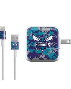 Charlotte Hornets Digi Camo iPad Charger (10W USB) Skin