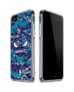 Charlotte Hornets Digi Camo iPhone SE Clear Case