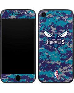 Charlotte Hornets Digi Camo iPhone SE Skin