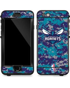 Charlotte Hornets Digi Camo LifeProof Nuud iPhone Skin