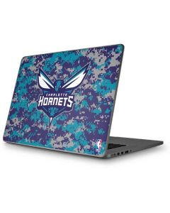 Charlotte Hornets Digi Camo Apple MacBook Pro 17-inch Skin