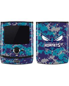 Charlotte Hornets Digi Camo Motorola RAZR Skin