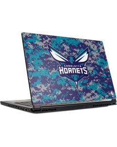 Charlotte Hornets Digi Camo MSI GS65 Stealth Laptop Skin
