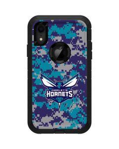 Charlotte Hornets Digi Camo Otterbox Defender iPhone Skin