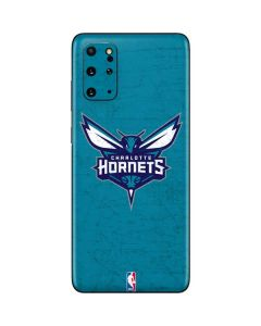 Charlotte Hornets Distressed-Aqua Galaxy S20 Plus Skin
