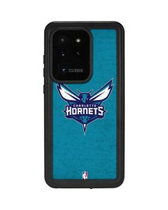 Charlotte Hornets Distressed-Aqua Galaxy S20 Ultra 5G Waterproof Case