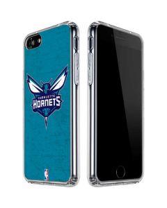 Charlotte Hornets Distressed-Aqua iPhone SE Clear Case
