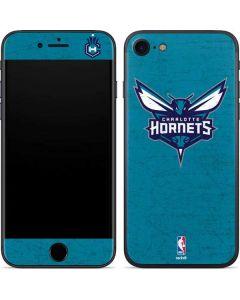 Charlotte Hornets Distressed-Aqua iPhone SE Skin