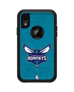 Charlotte Hornets Distressed-Aqua Otterbox Defender iPhone Skin