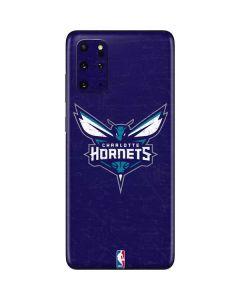 Charlotte Hornets Distressed-Purple Galaxy S20 Plus Skin