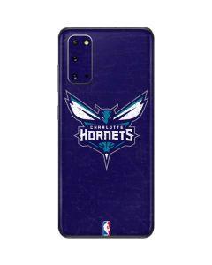 Charlotte Hornets Distressed-Purple Galaxy S20 Skin