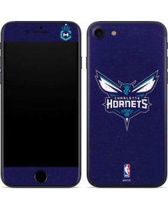 Charlotte Hornets Distressed-Purple iPhone SE Skin