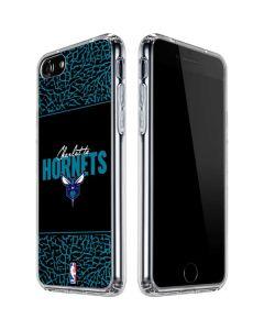 Charlotte Hornets Elephant Print iPhone SE Clear Case