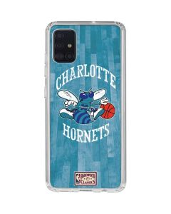 Charlotte Hornets Hardwood Classics Galaxy A51 Clear Case