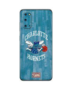 Charlotte Hornets Hardwood Classics Galaxy S20 Skin