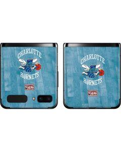 Charlotte Hornets Hardwood Classics Galaxy Z Flip Skin