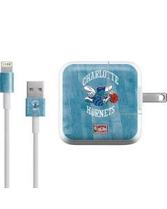 Charlotte Hornets Hardwood Classics iPad Charger (10W USB) Skin